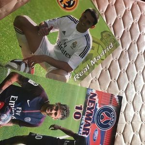 Posters Neymar and chicharito soccer